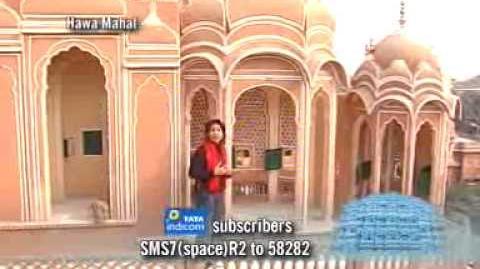 7 Wonders of India Hawa Mahal
