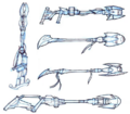 Wastelander weapons concept art.png