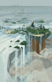 Brink Island concept art