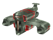 Aeropan bomber render