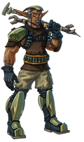 Sig from Jak X concept art
