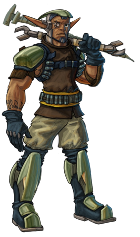 File:Sig from Jak X concept art.png