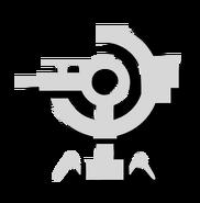 Gun tower icon