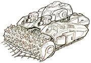 Security tank concept art