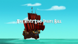The Never Land Pirate Ball titlecard