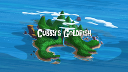 Cubby's Goldfish title card