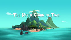 The Never Sands of Time titlecard