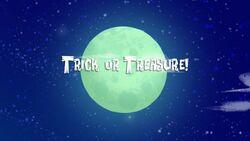Trick or Treasure! title card