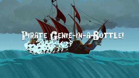 Pirate Genie-in-a-Bottle! title card