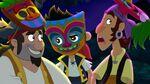 Jake Sharky &Bones-Tiki Maskerade Mystery01
