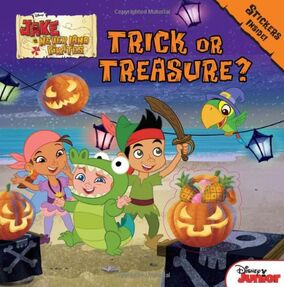 Trick or Treasure book01