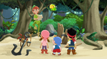 Peter with Jake&crew-Peter Pan Returns02