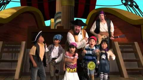 Jake and the Never Land Pirate Band Talk Like A Pirate Sing Along Disney Junior