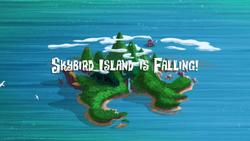 Skybird Island is Falling! titlecard