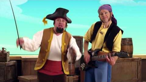 Jake and the Never Land Pirates Pirate Band The Codfish Reel Disney Junior