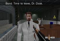 Dr Doak in GoldenEye 007 (1997)