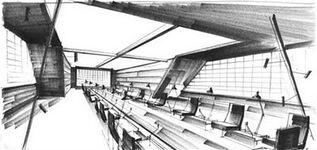 Ken Adam - Spectre Briefing Room