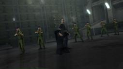 General Ourumov holds 006 at gunpoint (Goldeneye 007 2010)