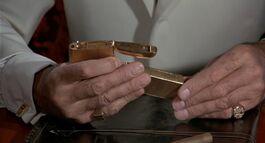 TMWTGG - Scaramanga assembes his Golden Gun