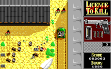 Licence to Kill (DOS) - Level 2 Shoot-out