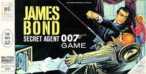 James Bond Secret Agent 007 (1964 board game)