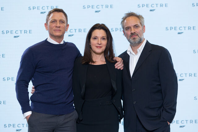 File:Spectre press conference - Craig, Medes, Broccoli.jpg