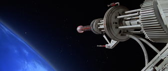 Drax's space station laser (Moonraker) 2