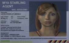 Mya Starling Card