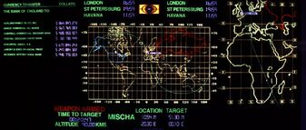 GoldenEye - Control Screen Readout