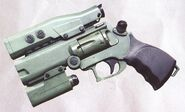 WASP gun revolver