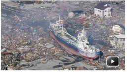 Boat-japan-earthquake-tsunami-beached