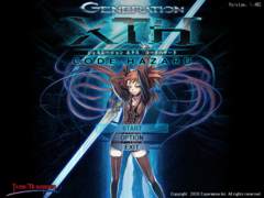 GXTH1 Title Screen
