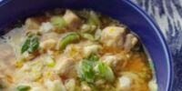 Chicken-Scallion Rice Bowl