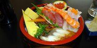 Chirashi-zushi