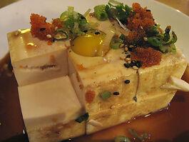 Tofu ponzu