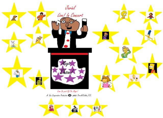 File:Jariel Live! In Concert Magic Show Logo.png