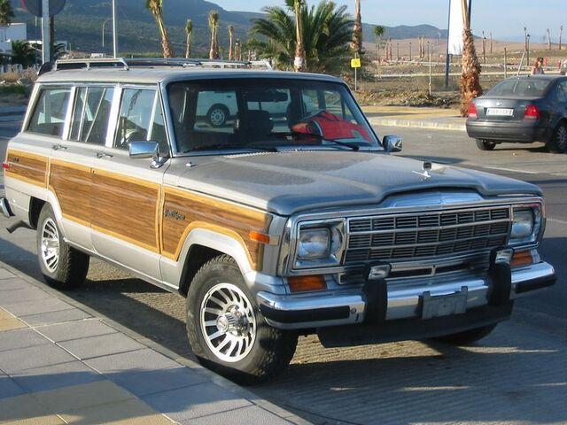 File:1991 Jeep Grand Wagoneer.JPG