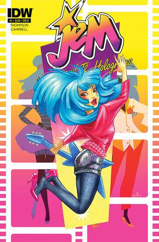 File:IDW Comics Issue 1 - cover B.jpg