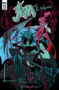 Jem and The Holograms, Issue 15 - 01