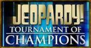 Jeopardy! Tournament of Champions Season 22 Logo