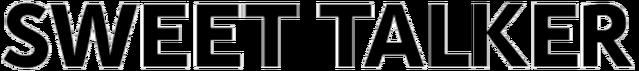 File:Album logo Sweet Talker.png
