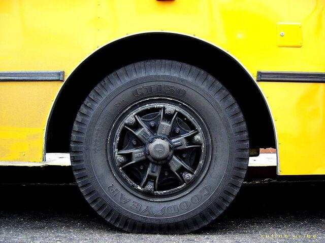 File:Yellow bus wheel.jpg