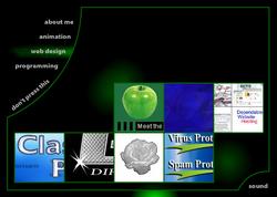 JacobGrahn.com Web Design 2
