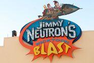 Universal Studios Jimmy Neutron's Nicktoon Blast Entrance