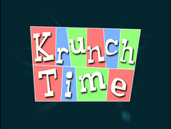 Krunch Time (Title Card)