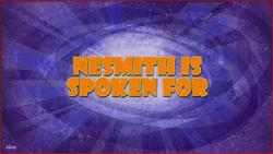 Nesmith is Spoken For