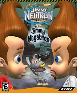 File:The Adventures of Jimmy Neutron Boy Genius vs Jimmy Negatron Coverart.png
