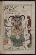 Kitab al-Bulhan -- devil