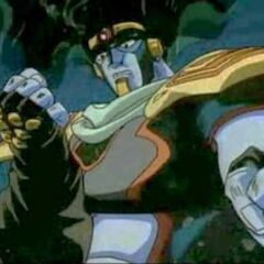Star Platinum's appearance in the OVA.