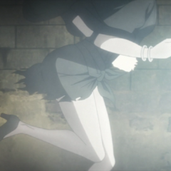 Lisa Lisa running away after killing her husband's murderer